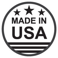 Made in USA icon in black